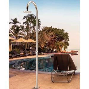 Στήλη πισίνας inox με κεφαλή ABS Tema - 24565