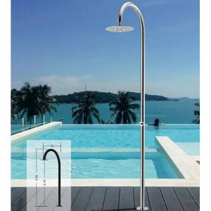 Στήλη πισίνας inox με κεφαλή inox Tema - 24563