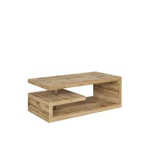 Τραπεζάκι σαλονιού Glimp wotan oak 120x60x45 Brw - 25173