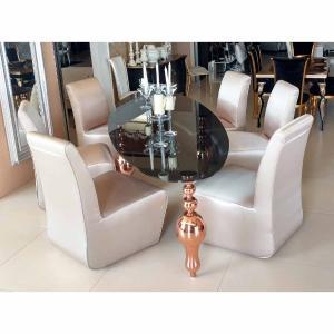 Τραπέζι οβάλ Andrei Quartet - 25202