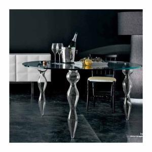 Τραπέζι στρογγυλό γυάλινο Ø120 Blow Miniforms - 25212