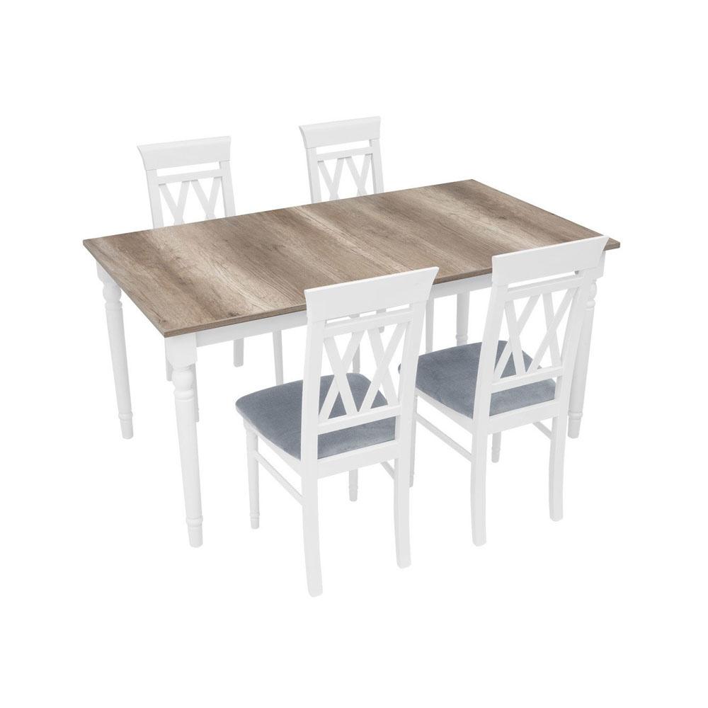 Τραπέζι επεκτεινόμενο 160-200x90x76,5h Cannet Brw