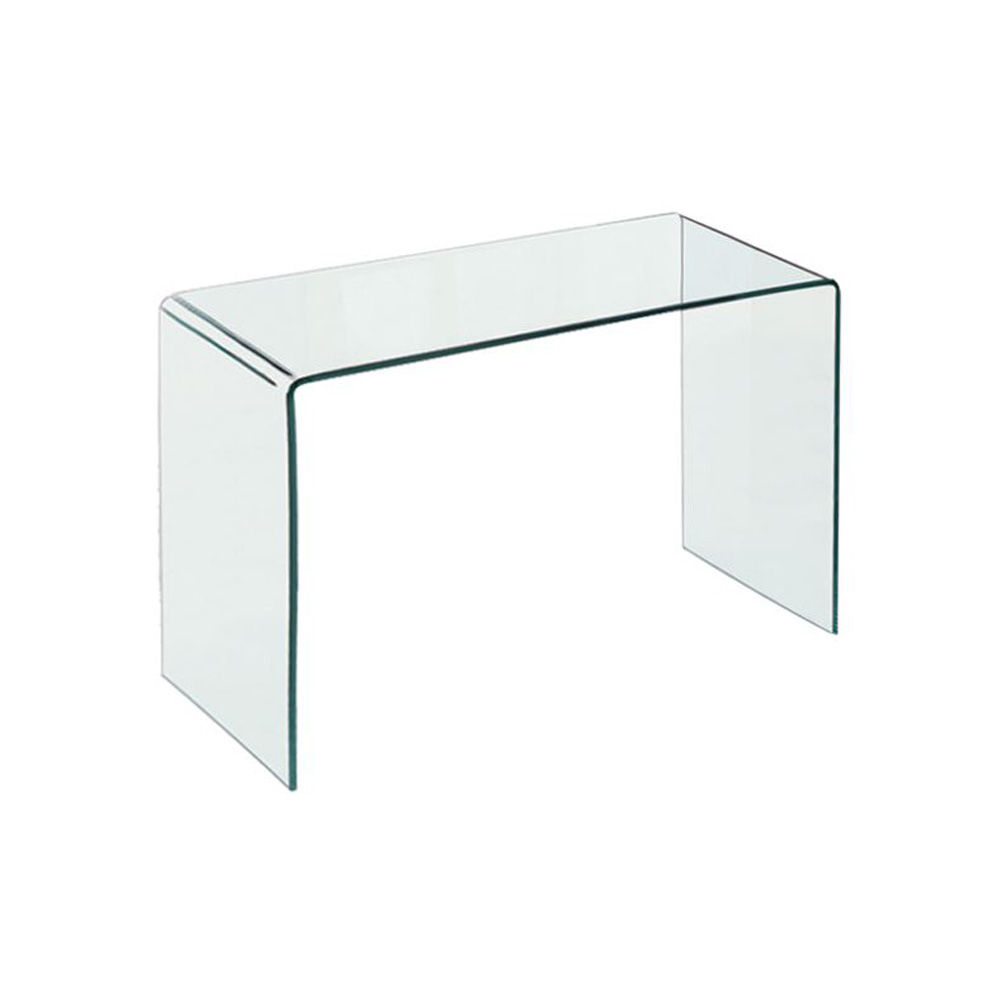 Τραπέζι-γραφείο γυαλί Glasser Clear