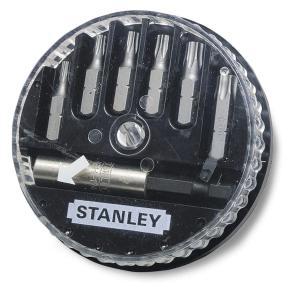 STANLEY ΣΕΤ 7 ΤΜΧ ΜΥΤΕΣ (TORX) & ΑΝΤΑΠΤΟΡΑΣ (1-68-739)