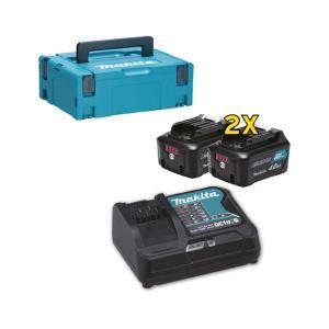 MAKITA Battery Kit 12Vmax/4.0Ah (x2) (197641-2)