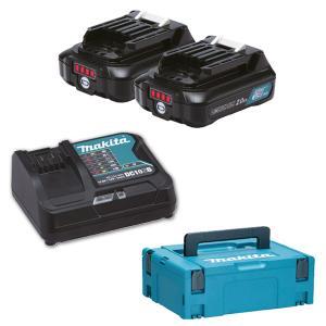 MAKITA Battery Kit 12Vmax/2.0Ah (x2) (197658-5)