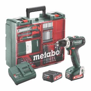 Metabo 12 Volt Δραπανοκατσάβιδο Μπαταρίας PowerMaxx BS 12 Set (601036870)