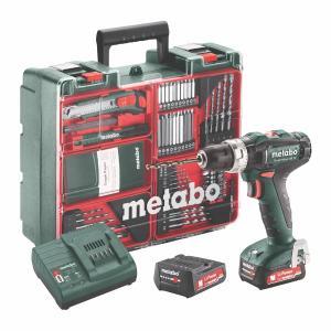 Metabo 12 Volt Κρουστικό Δραπανοκατσάβιδο Μπαταρίας PowerMaxx SB 12 Set (601076870)