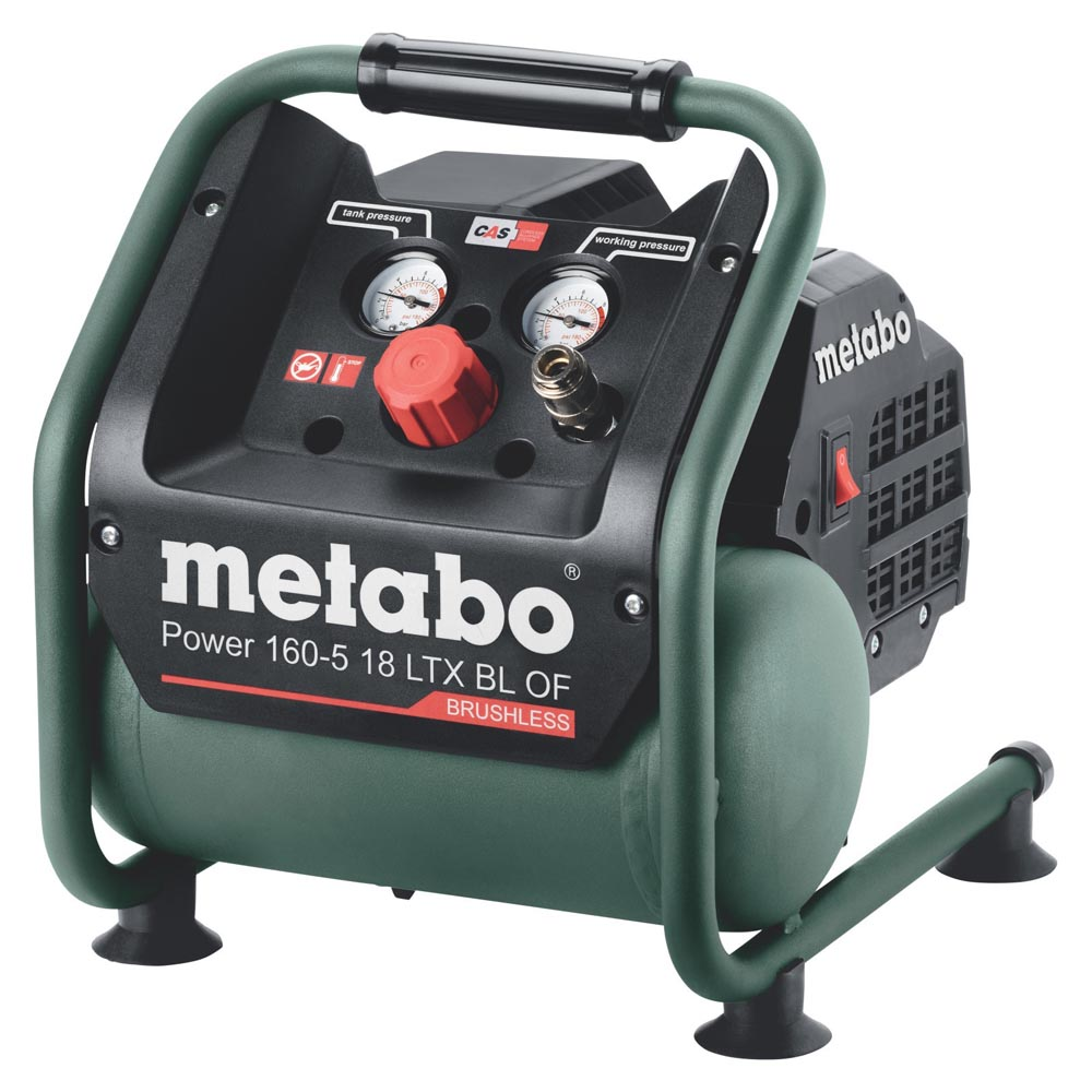 Metabo Αεροσυμπιεστής Μπαταρίας Power 160-5 18 LTX BL OF (601521850)