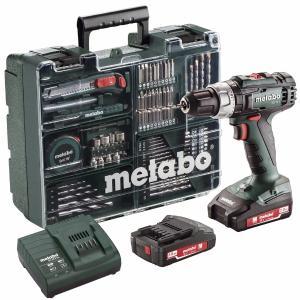 Metabo 18 Volt Κρουστικό Δραπανοκατσάβιδο Μπαταρίας 2 Ταχυτήτων SB 18 L Set (602317870)