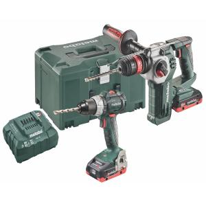 Metabo 18 Volt Combo Set Battery 2.3.7 18 V BL LiHD SB 18 LT BL & KHA 18 LTX BL 24 Quick (685140000)