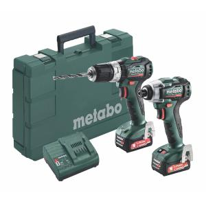 Metabo 12 Volt Combo Set Μπαταρίας 2.7.5 12 V BL PowerMaxx SB 12 BL & PowerMaxx SSD 12 BL (685165000)