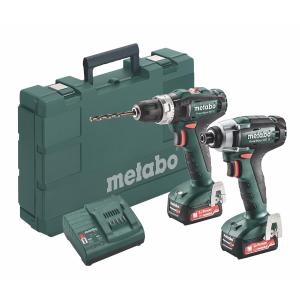 Metabo 12 Volt Combo Set Μπαταρίας 2.7.2 12V PowerMaxx SB 12 & PowerMaxx SSD 12 (685167000)