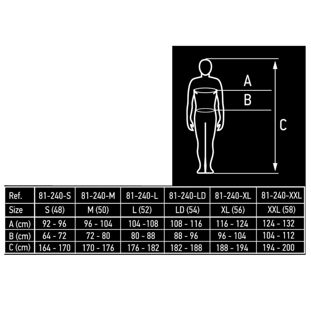 NEO TOOLS ΦΟΡΜΑ ΕΡΓΑΣΙΑΣ 267 g/m³ (81-240)