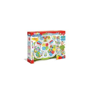 Clementoni Βρεφικό Παιχνίδι Τραπέζι Δραστηριοτήτων (Μιλάει Ελληνικά) 1000-63595