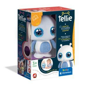 Baby Clementoni Βρεφικό Παιχνίδι Tellie Τα Πρώτα Μου Παραμύθια 1000-63893