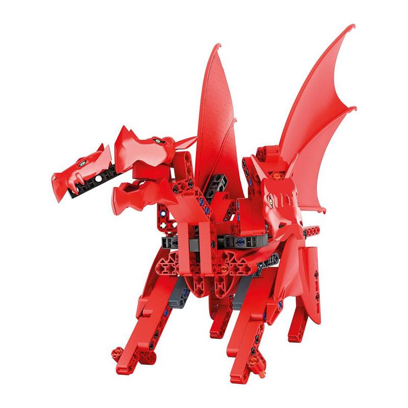 Clementoni Μαθαίνω & Δημιουργώ Εργαστήριο Μηχανικής Ιπτάμενος Δράκος 1026-63401