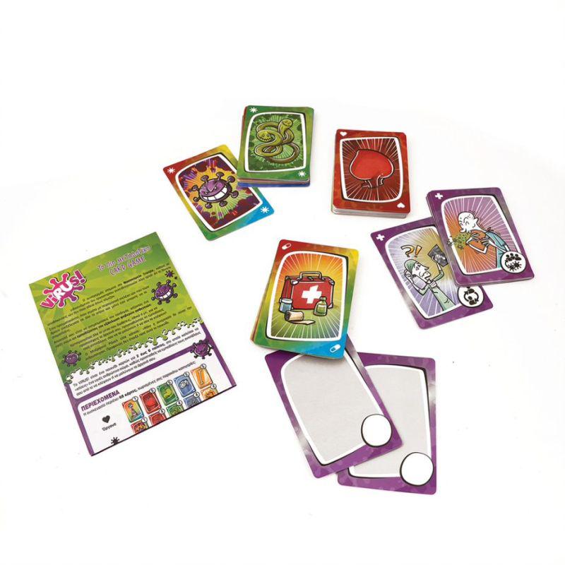 AS Company Επιτραπέζιο Card Game Virus 1040-21125