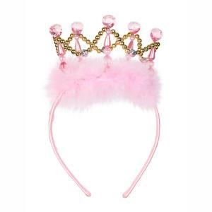 Souza Στέκα- Κορώνα Crown Esmeralda, gold/pink 104324