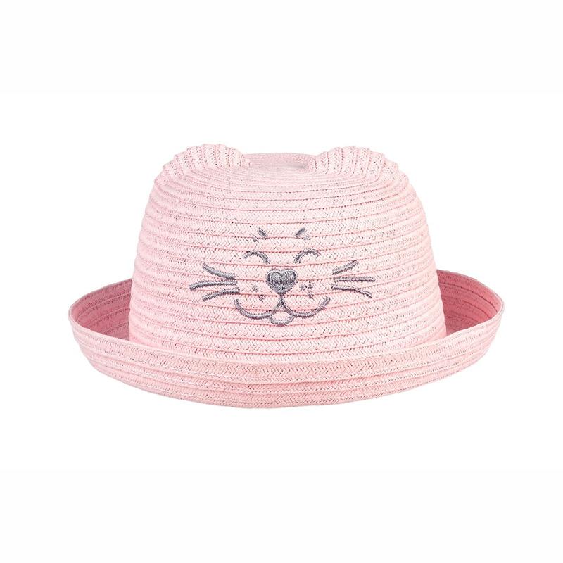 Souza Hat Emelie Ροζ Ψάθινο Καπέλο 105432
