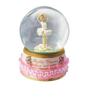 Spieluhrenwelt Χιονόμπαλα μπαλαρίνα 10cm 15007
