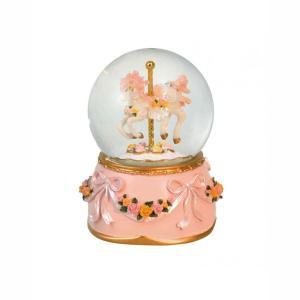 Χιονόμπαλα με Carousel Mονόκερο 15047