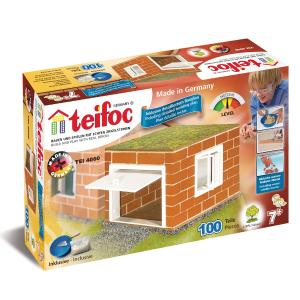 Teifoc Χτίζοντας Γκαράζ 100 κομμάτια (158-4060)