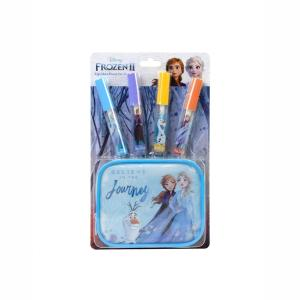 Markwins Disney Frozen II Lip Gloss And Pouch Set Μικρή Τσάντα Ομορφιάς 1580158E