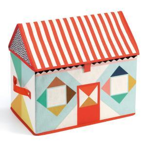 Djeco Παιχνιδόκουτο Υφασμάτινο 'Σπίτι' (176-04480)