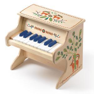 Djeco  Μουσικό Όργανο Ξύλινο Ηλεκτρονικό Πιάνο 1,5 Οκτάβα (176-06006)