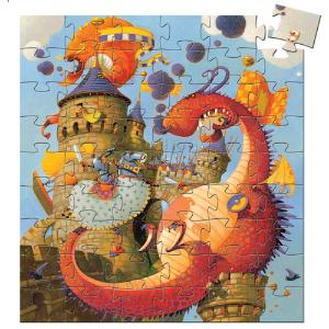Djeco Puzzle  Ο Δράκος 54 τμχ (176-07256)