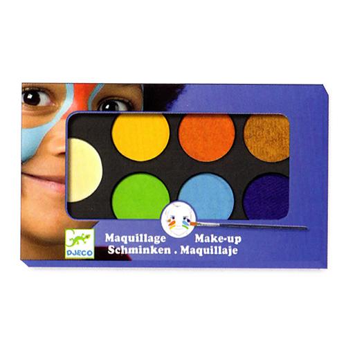 Djeco Παλέτα Μακιγιάζ 6 Χρώματα 'Φυσικά' (176-09230)