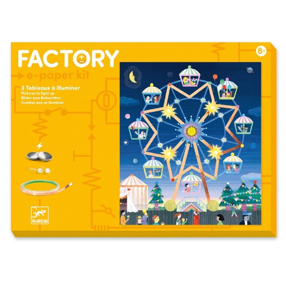 Djeco Κατασκευή Factory 'Λούνα Παρκ' (176-09311)