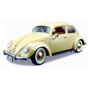 Μεταλλική Μινιατούρα Σε Κλίμακα 1:18 – Volkswagen Kafer - Beetle 1955 – Άσπρο