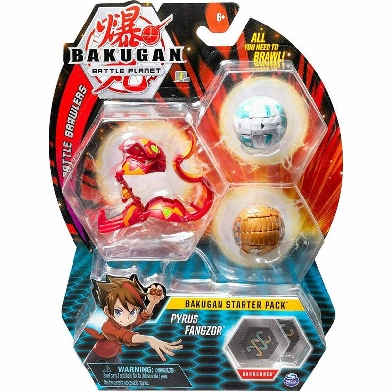 Spin Master Bakugan Battle Brawlers Starter Pack Pyrus Fangzor 20108792