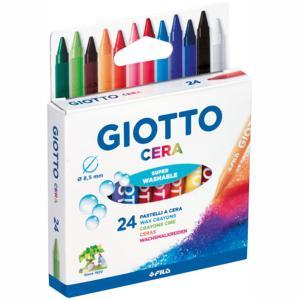 Giotto Cera Maxi Κηρομπογιές 8,5mm 24τμχ 282200