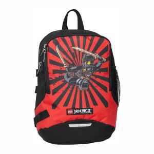 Τσάντα Δημοτικού Lego Ninjago V-Line Κόκκινη 10029-1602