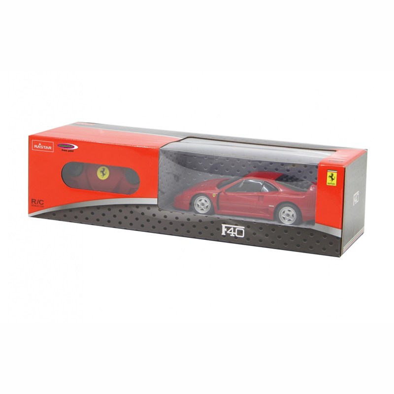 Jamara Rastar RC Ferrari F40 1:24 Red 40Mhz