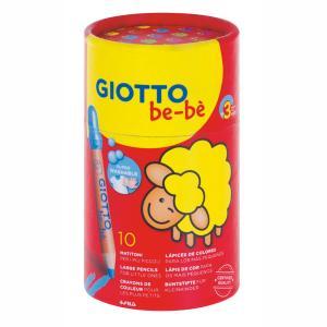 Giotto Ξυλομπογιές be-be 10 τμχ σε ποτηράκι 479400