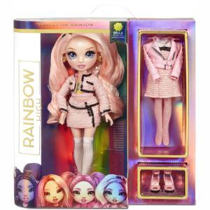 Giochi Ρreziosi Rainbow High Κούκλα Bella (Ροζ) 570738EUC