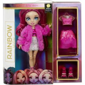 Rainbow High Fashion Doll Stella Monroe (Fuschia) 572121EUC