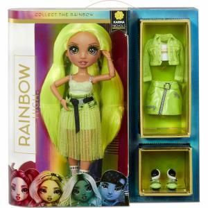 Rainbow High Fashion Karma Nichols (Neon) 572343EUC