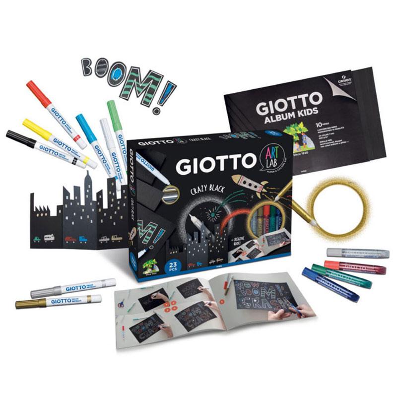 Σετ Δημιουργίας Giotto Art Lab Crazy 23τεμ. 581600