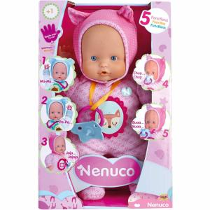 Giochi Preziosi Κούκλα Nenuco Soft με Λειτουργιές 700014781