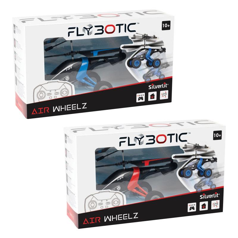 AS Company Silverit Τηλεκατευθυνόμενο Ελικόπτερο Air Wheelz