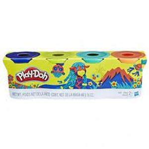 Hasbro Play-Doh 4 Βαζάκια