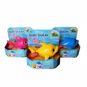 Giochi Preziosi Baby Shark  Παιχνίδι Μπάνιου Με Τραγούδι & Κίνηση- 3 σχέδια (BAH03000)