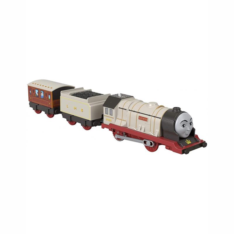 Fisher Price Thomas The Train- Μηχανοκίνητα Τρένα με 2 Βαγόνια (BMK93)