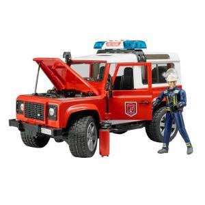 Bruder Πυροσβεστικό Land Rover Station Wagon 1:16 BR002596