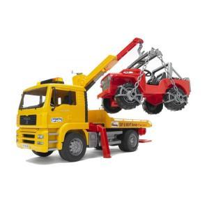 Bruder Φορτηγό ΜΑΝ Οδικής Βοήθειας με Γερανό & Τζιπάκι 1:16 BR002750